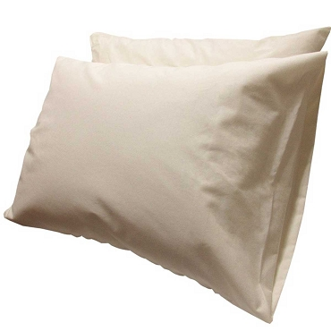 Pillow Protector with Organic Sleeping Surface (Pair)